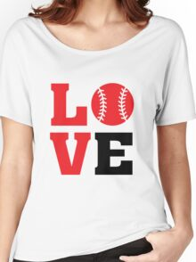 Baseball Love Women's Relaxed Fit T-Shirt