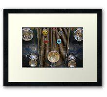 Rover Facade Framed Print