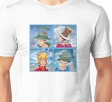 Four Hats Unisex T-Shirt