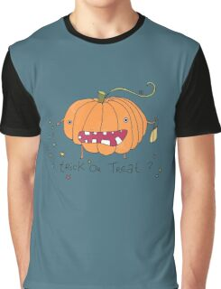 Happy Halloween Pumpkin Graphic T-Shirt