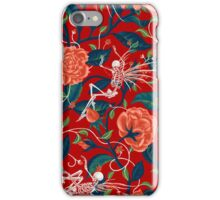 Death of Summer (blood red) iPhone Case/Skin