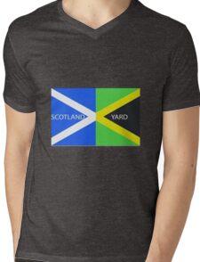 Scotland Yard  Mens V-Neck T-Shirt