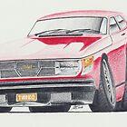 SAAB 99 Turbo by Glens Graphix by GlensGraphix