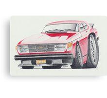 SAAB 99 Turbo by Glens Graphix Canvas Print