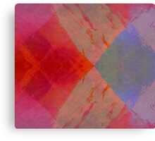 Fire And Ice abstract art original unique Canvas Print