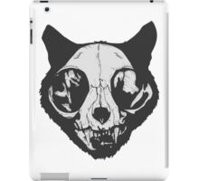 cat skull iPad Case/Skin