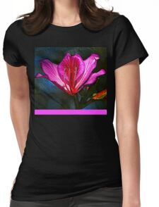 Spring Flower Womens Fitted T-Shirt
