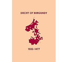 Duchy of Burgundy Photographic Print