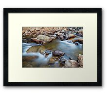 Rocky Mountain Streaming Dreaming Framed Print