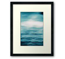 Sky Sea Framed Print