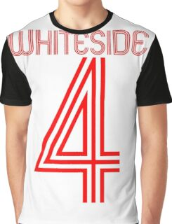 Whiteside is a red Graphic T-Shirt