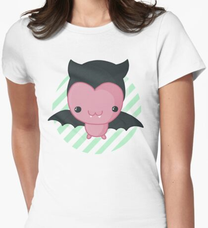 Batty Bat Womens Fitted T-Shirt