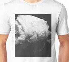 White flower Unisex T-Shirt