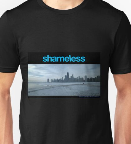 Shameless - Chicago skyline Unisex T-Shirt