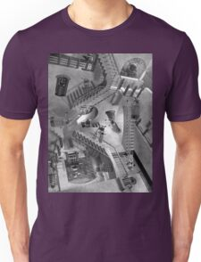 Escher's Asylum of the Daleks Unisex T-Shirt