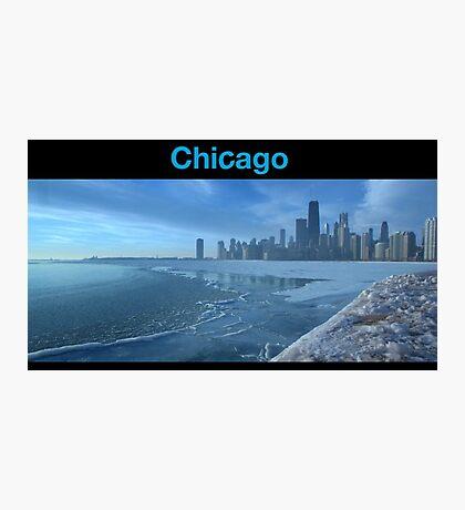 Shameless style - Chicago skyline Photographic Print