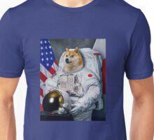 astronaut doge Unisex T-Shirt