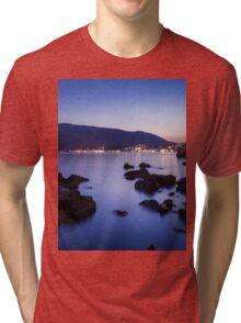 Rocks and Calm Sea Tri-blend T-Shirt