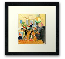 Definitely Maybe Cover Art Framed Print