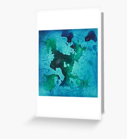 Oil & Water 5.4 Greeting Card