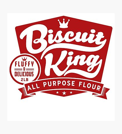 Biscuit King Photographic Print