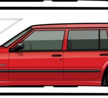 Volvo 740 745 Turbo Wagon Trio Sticker