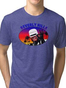 BEVERLY HILLS AXEL FOLEY ROBOCOP (2) Tri-blend T-Shirt