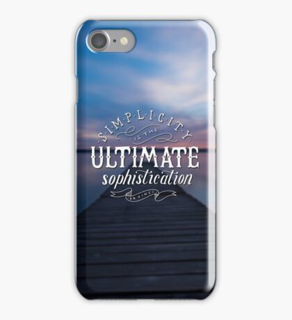 Simplicity iPhone Case/Skin