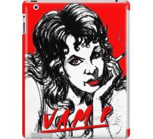 SMOKING VAMPIRE iPad Case/Skin