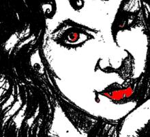 SMOKING VAMPIRE Sticker