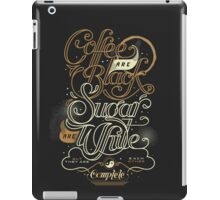 Coffee Wisdom iPad Case/Skin