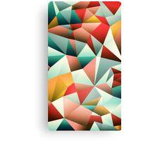 Modern Abstract Geometric Pattern Canvas Print