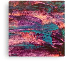 90s Abstract Paint Canvas Print
