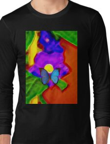 Flower Fantasy Long Sleeve T-Shirt