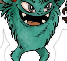 Cute Halloween - Monster 01 Sticker