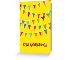 Congratulations: Flags! Greeting Card