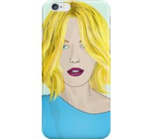 Blonde Ambition - Gorgeous Blonde Woman Illustration iPhone Case/Skin