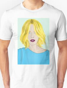Blonde Ambition - Gorgeous Blonde Woman Illustration T-Shirt