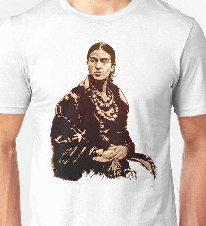 FRIDA Kahlo - the mistress of ARTs - sepia QUOTE Unisex T-Shirt