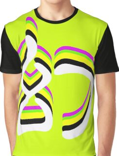 Chinese Characters: Fantasy&Magic in Chinese Character Writing Symbols Graphic T-Shirt