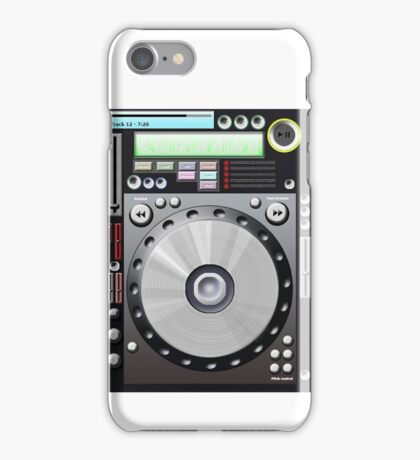 DJ decks iPhone Case/Skin