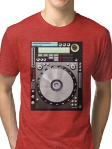 DJ decks Tri-blend T-Shirt
