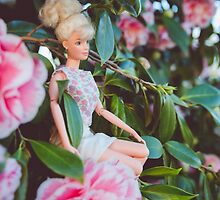 Barbie in the flowers by sgbphotos