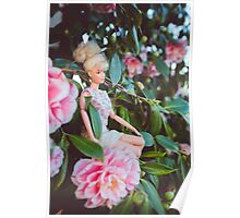 Barbie in the flowers Poster