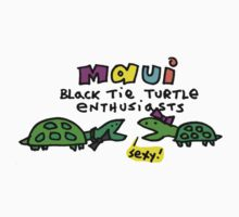 Black Tie Turtles of Maui Kids Clothes