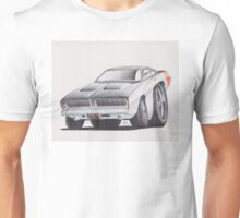 Dodge Charger 1969 by Glens Graphix Unisex T-Shirt