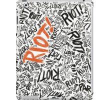 RIOT!  iPad Case/Skin