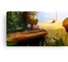 Jungle Lineage Canvas Print