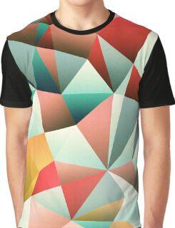 Modern Abstract Geometric Pattern Graphic T-Shirt
