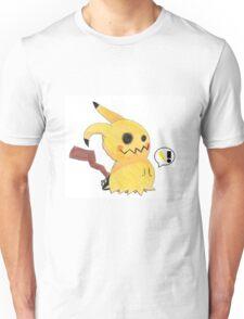 Mimikyu Attacks with Thunderbolt! Unisex T-Shirt